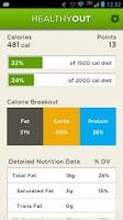 Screenshot of HealthyOut Healthy Meal Finder