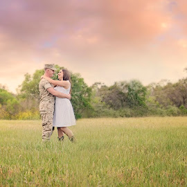 Beautiful Pre-Deployment  by Stefanie Drake - People Couples ( love, deployment, military )
