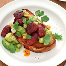 Avocado And Chorizo Toast Recipe
