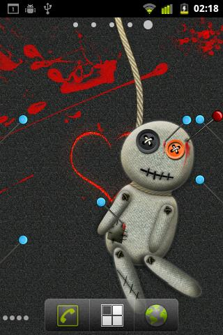 voodoo-live-wallpaper for android screenshot
