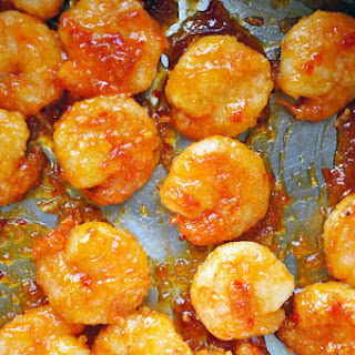 Sweet and Sour Crackerjack Shrimp