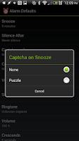 Screenshot of ★ Alarm Clock ★ w/ Snooze