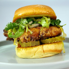Ranch Fried Chicken Sandwich
