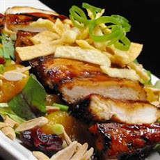 Grilled Wonton Chicken Salad