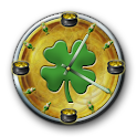 St. Patrick's Day Clock icon