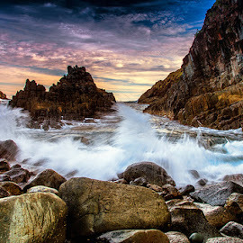 the semeti beach lombok by IDewa ZesmaerthaPrabawatma - Landscapes Caves & Formations
