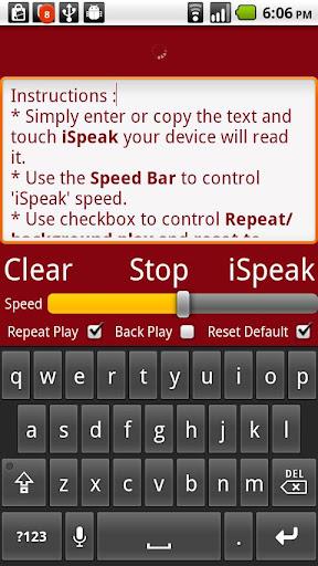 iSpeak Pro