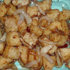 Onion Caramelized Potatoes