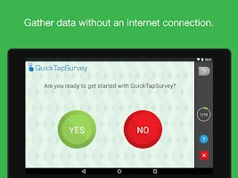 Screenshot of QuickTapSurvey Offline Survey