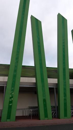 Grüne Dinger Mit Licht
