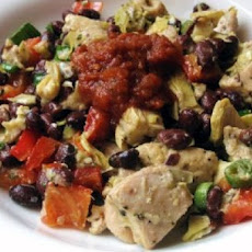 Mexican Chicken Salad (Weight Watchers)