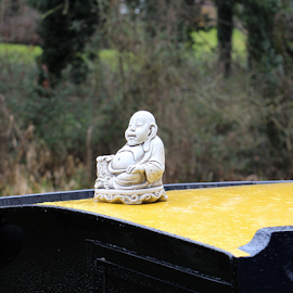 Canal Barge Budda by Martin Lee - Novices Only Objects & Still Life
