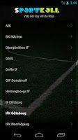 Screenshot of Sportkoll Fotboll