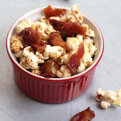 Maple-Bacon Popcorn