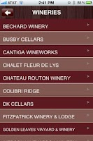 Screenshot of Wineries of Fair Play