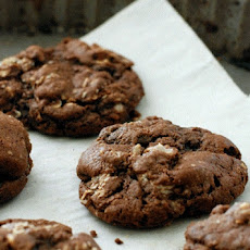 Spiced Chocolate Cherry Snacking Cookies