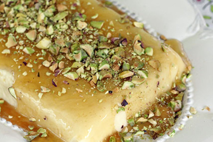 White Chocolate And Pistachio Semifreddo Recipes — Dishmaps