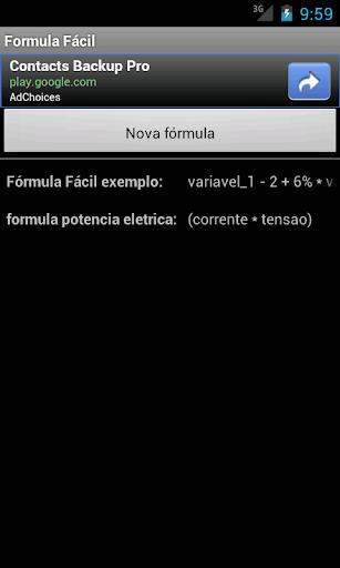 【免費工具App】Formula Facil-APP點子
