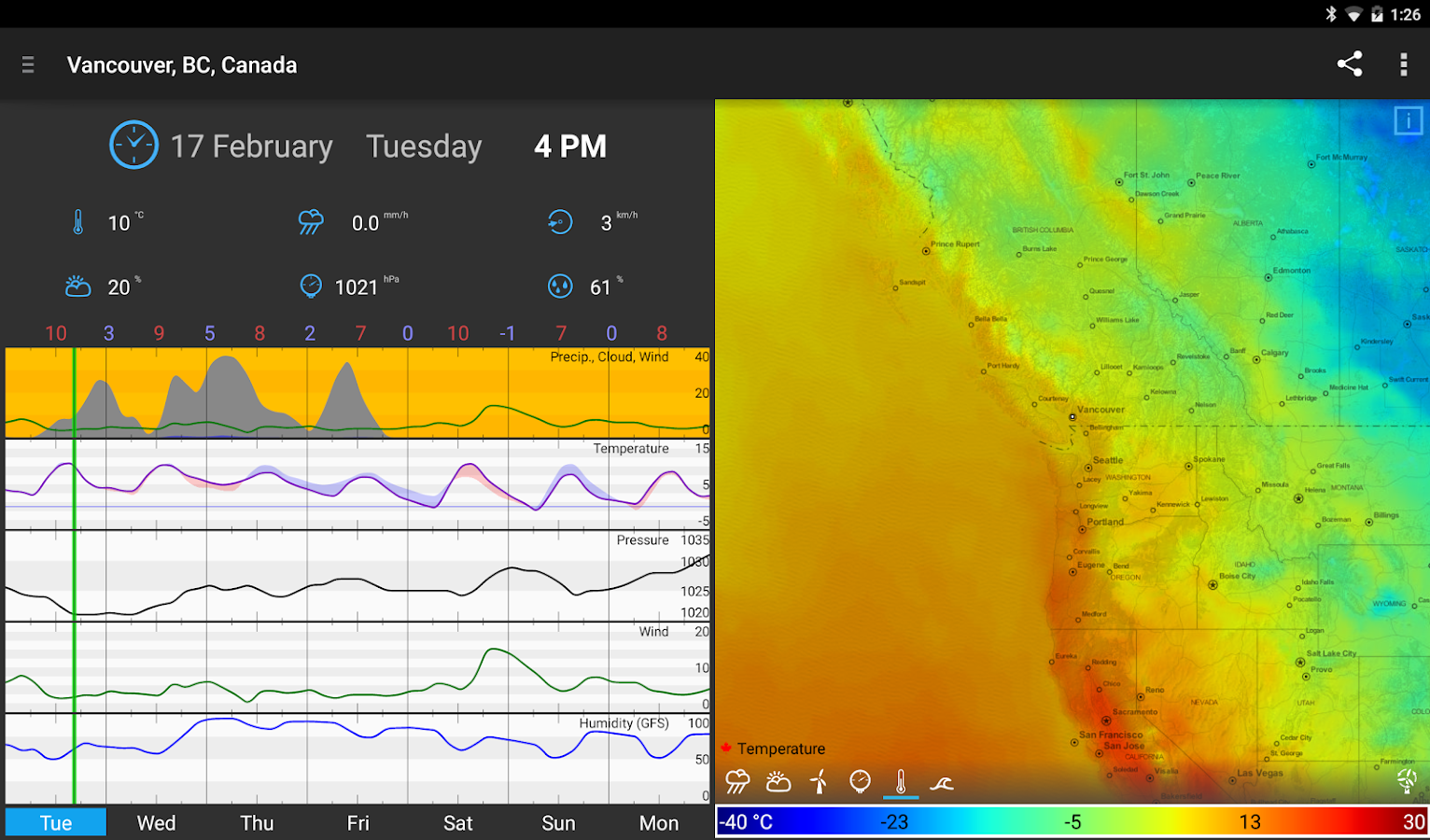 WeatherBomb Screenshot 14