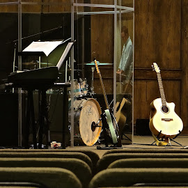 Before the Gig by Steven Aicinena - Artistic Objects Musical Instruments