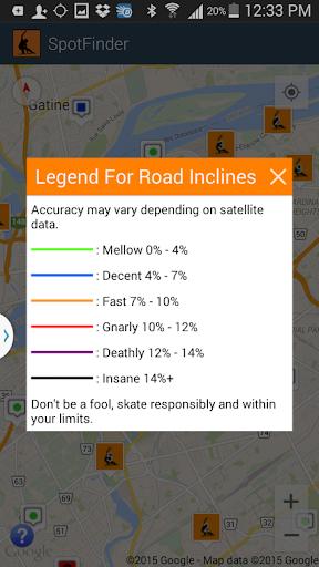 Longboard Spot Finder - screenshot