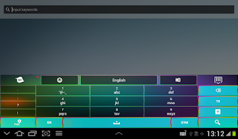 Screenshot of Keyboard Color
