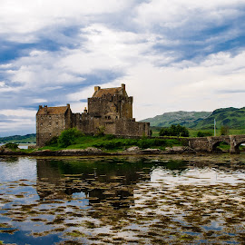 Eileen Donan Castle by Andrew Block - Buildings & Architecture Public & Historical ( landmark, eileen donan, scotland, landscape photography, castle, historical )