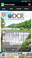 Screenshot of VA State Parks Guide