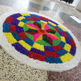 Athapookalam by Sanjeev C Das - Artistic Objects Other Objects ( onam )