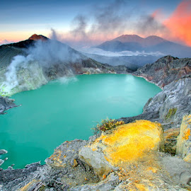 Wonderful of Ijen Crater by Hendra Gunawan - Landscapes Mountains & Hills ( #mountain, #landscape, nature, #volcano, #crater )
