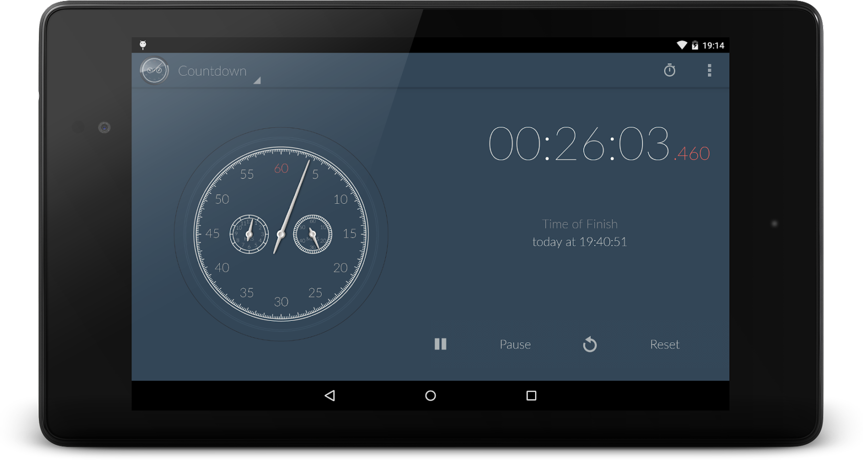 Stopwatch & Countdown Timer + Screenshot 8