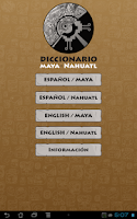 Screenshot of Maya - Nahuatl  Dictionary