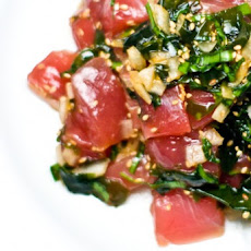 Tuna Poke (pronounced poke-ay)