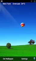 Screenshot of 3D Weather Live Wallpaper