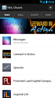 Screenshot of New Hope Leeward Church App