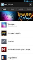 Screenshot of New Hope Leeward Church App