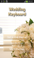 Screenshot of Wedding Keyboard