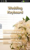 Screenshot of Wedding Keyboard