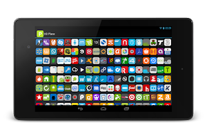 Screenshot of HD Plane Free - Icon Pack