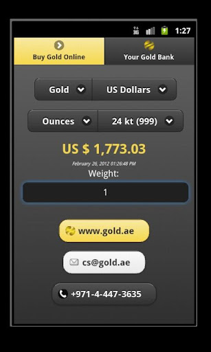 Gold Silver Rates by Gold AE