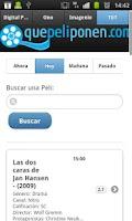 Screenshot of QuePeliPonen.com