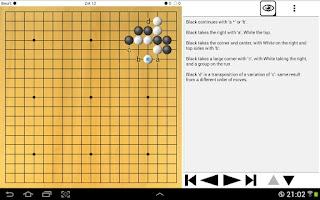 Screenshot of BW-Go Free