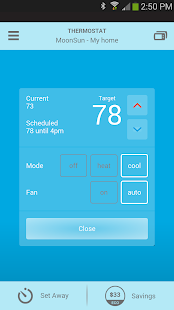 Thermostat - screenshot