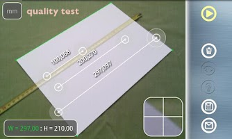 Screenshot of Partometer3D - photo measure