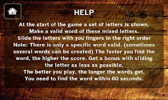Screenshot of Word Game / Word Juggler Plus