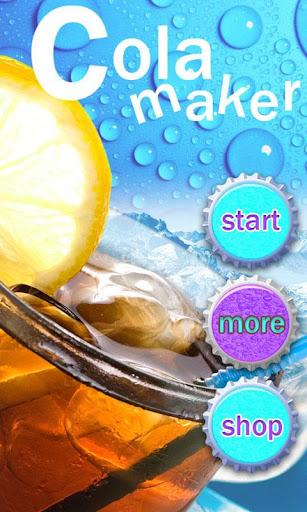 Cola Soda Maker-Cooking games