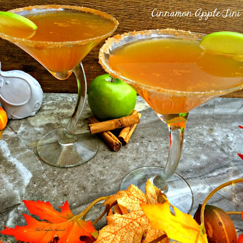 Cinnamon Apple-tini