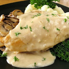 Chicken Breasts in Cream Sauce