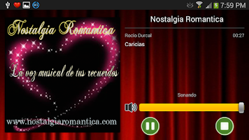 Screenshot of Nostalgia Romantica