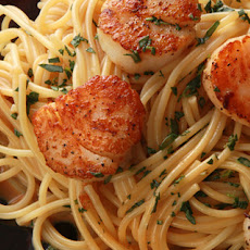 Seared Scallops with Lemon and Vodka Recipe